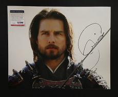 Tom Cruise Signed 16x20 Photo Autograph Last Samurai Psa Dna Coa Proof