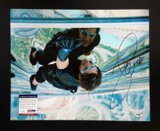 Tom Cruise Signed 16x20 Photo Autograph Psa Coa Mission Impossible Ghost 4