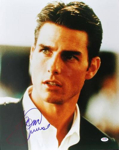 Tom Cruise Jerry Maguire Signed 16X20 Photo PSA/DNA #U70497