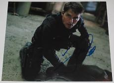 Tom Cruise Signed 8x10 Photo Autograph Mission Impossible Cocktail Top Gun Coa B