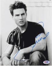 Tom Cruise Signed 8x10 Photo Autograph Mission Impossible Cocktail Top Gun Psa E