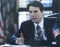 Tom Cruise Signed Authentic Autographed 11x14 Photo (PSA/DNA) #I36244