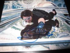 TOM CRUISE SIGNED AUTOGRAPH 8x10 MISSION IMPOSSIBLE PROMO IN PERSON COA AUTO N
