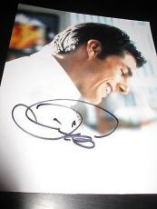 TOM CRUISE SIGNED AUTOGRAPH 8x10 PHOTO JERRY MAGUIRE PROMO IN PERSON COA AUTO
