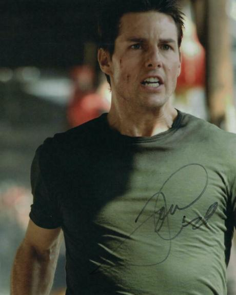 Tom Cruise Signed Autograph 8x10 Photo - Mission Impossible Star, Top Gun Stud