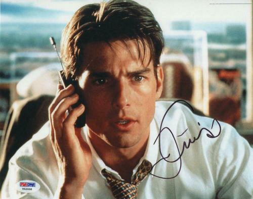 TOM CRUISE SIGNED AUTOGRAPH 8x10 PHOTO - TOP GUN, MISSION IMPOSSIBLE STUD, PSA