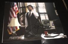 """Tom Cruise Signed Autograph Classic """"a Few Good Men"""" Flag 11x14 Photo Jsa L74032"""
