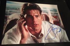 "Tom Cruise Signed Autograph Famous ""jerry Maguire"" Money 11x14 Photo Jsa L74031"