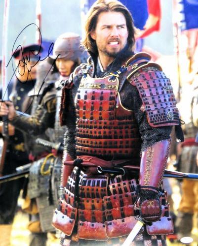Tom Cruise Signed Autographed 16X20 Photo The Last Samurai Full Armor JSA S93326