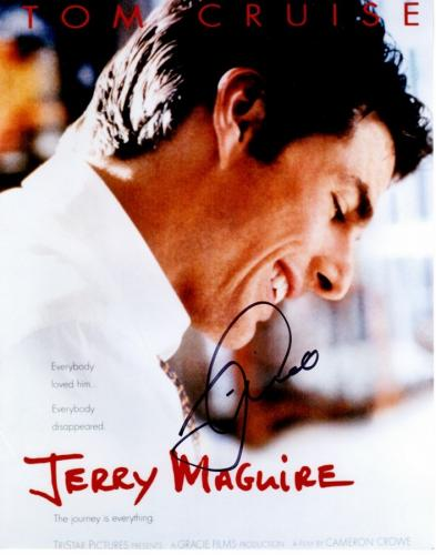Tom Cruise Signed - Autographed Jerry Maguire 11x14 inch Photo - Guaranteed to pass PSA or JSA