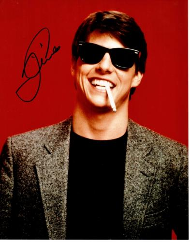 Tom Cruise Signed - Autographed Risky Business 11x14 inch Photo - Guaranteed to pass PSA or JSA