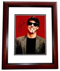Tom Cruise Signed - Autographed Risky Business 11x14 inch Photo MAHOGANY CUSTOM FRAME - Guaranteed to pass PSA or JSA