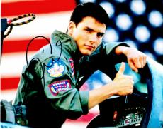 Tom Cruise Signed - Autographed TOP GUN 11x14 Photo