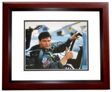 Tom Cruise Signed - Autographed TOP GUN 11x14 inch Photo MAHOGANY CUSTOM FRAME - Guaranteed to pass PSA or JSA