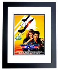 Tom Cruise Signed - Autographed TOP GUN - Maverick 11x14 inch Photo BLACK CUSTOM FRAME - Guaranteed to pass PSA or JSA