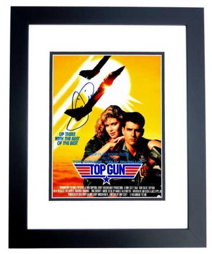 Tom Cruise Signed - Autographed TOP GUN - Maverick 11x14 inch Photo BLACK CUSTOM FRAME - Guaranteed to pass PSA or JSA