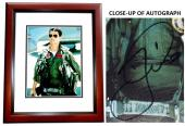 Tom Cruise Signed - Autographed TOP GUN - Maverick 11x14 inch Photo MAHOGANY CUSTOM FRAME - Guaranteed to pass PSA or JSA
