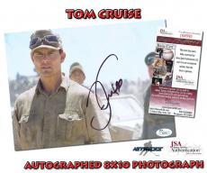 TOM CRUISE Signed Color 8x10 Photo JSA CERTIFIED AUTHENTIC COA