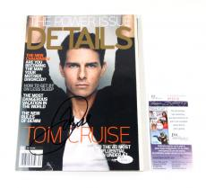 Tom Cruise Signed Details Magazine December 2008 JSA Auto