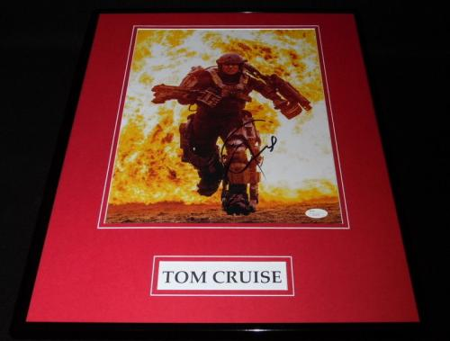 Tom Cruise Signed Framed 16x20 Photo Poster Display JSA Mission Impossible