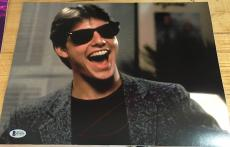 "Tom Cruise Signed Full Name Autograph ""risky Business"" Rare Stud 11x14 Photo Bas"