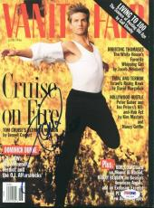 Tom Cruise Signed Magazine 1996 Vanity Fair Autographed Psa/dna #u51254