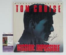 Tom Cruise Signed Mission: Impossible Laserdisc Jsa Coa K42288
