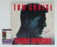 Tom Cruise Signed Mission: Impossible Laserdisc Jsa Coa K42288