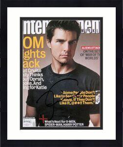 Tom Cruise Signed NL ENTERTAINMENT EW Magazine JSA