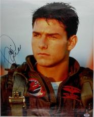 TOM CRUISE SIGNED TOP GUN 16x20 CANVAS PRINT PHOTO PSA/DNA