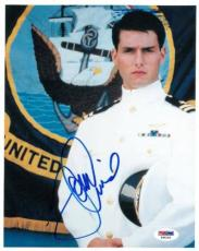 Tom Cruise Signed Top Gun Authentic Autographed 8x10 Photo (PSA/DNA) #T48145