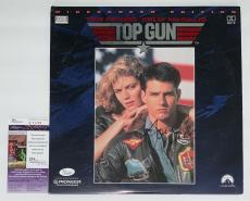 Tom Cruise Signed Top Gun Laserdisc Jsa Coa K42289