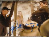 TOM CRUISE SPIELBERG SIGNED 8x10 WAR OF THE WOLDS COA B