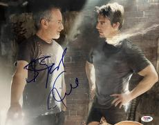 Tom Cruise Steven Spielberg Signed 11x14 Photo PSA/DNA