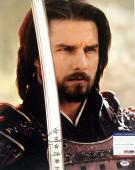 Tom Cruise The Last Samurai Autographed Signed 16x20 Photo PSA/DNA W71064