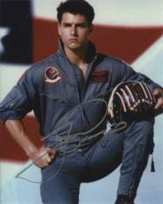 Tom Cruise Top Gun Autographed Signed 8x10 Photo Certified Authentic PSA/DNA