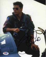 Tom Cruise Top Gun Autographed Signed 8x10 Photo Certified PSA/DNA AFTAL