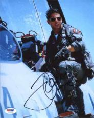 Tom Cruise Top Gun Autographed Signed 8x10 Photo Certified PSA/DNA