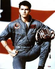 Tom Cruise Top Gun Signed 11X14 Photo Autographed PSA/DNA #T76173