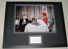 Tom Ewell Signed Framed 11x14 Photo Display w/ Jayne Mansfield