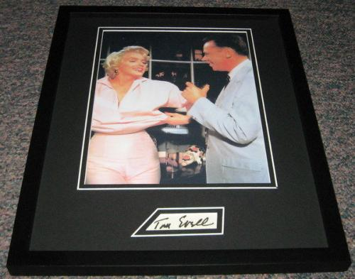 Tom Ewell Signed Framed 11x14 Photo Display w/ Marilyn Monroe Seven Year Itch