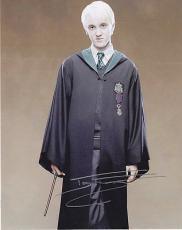 Tom Felton Signed 8x10 Photo w/coa Harry Potter