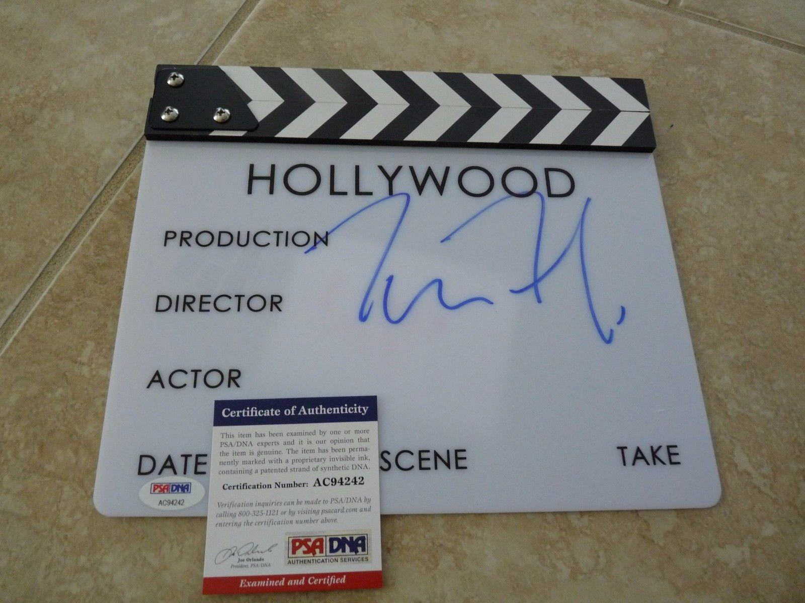 Tom Ford Director Nocturnal Animals Signed Autographed Clapboard Psa