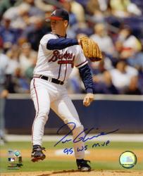 "Tom Glavine Atlanta Braves Autographed 8"" x 10"" Photograph with ""95 WS MVP"" Inscription"