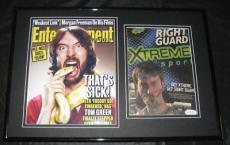 Tom Green Signed Framed 11x14 Photo Display JSA Freddy Got Fingered