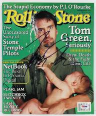 Tom Green Signed Autographed Rolling Stone Magazine Psa/dna #i11090