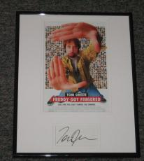 Tom Green Signed Framed 11x14 Photo Display Freddy Got Fingered