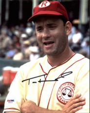 Tom Hanks A League Of Their Own Signed 8X10 Photo PSA/DNA #AB33515
