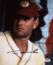 Tom Hanks A League Of Their Own Signed 8X10 Photo PSA/DNA #W25020