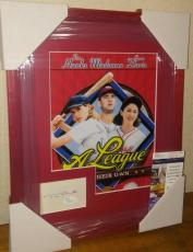 Tom Hanks A League Of Their Own Signed Autographed 13x16 Matted Framed Jsa Coa A